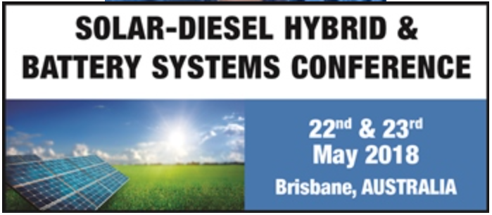 Solar-Diesel Hybrid & Battery Systems Conference