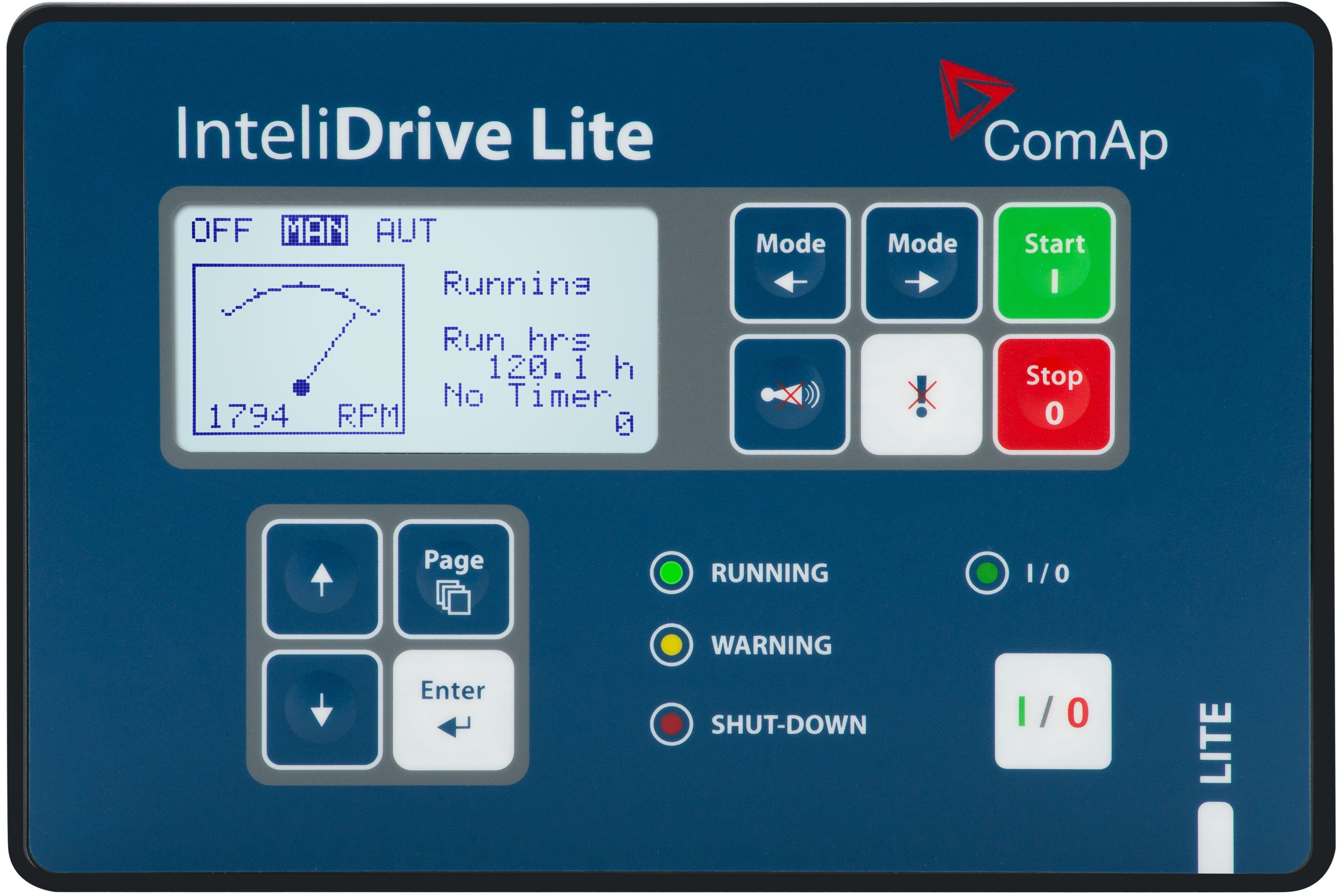 ComAp - InteliDrive Lite - Engine Controller for Pumps and Compressors