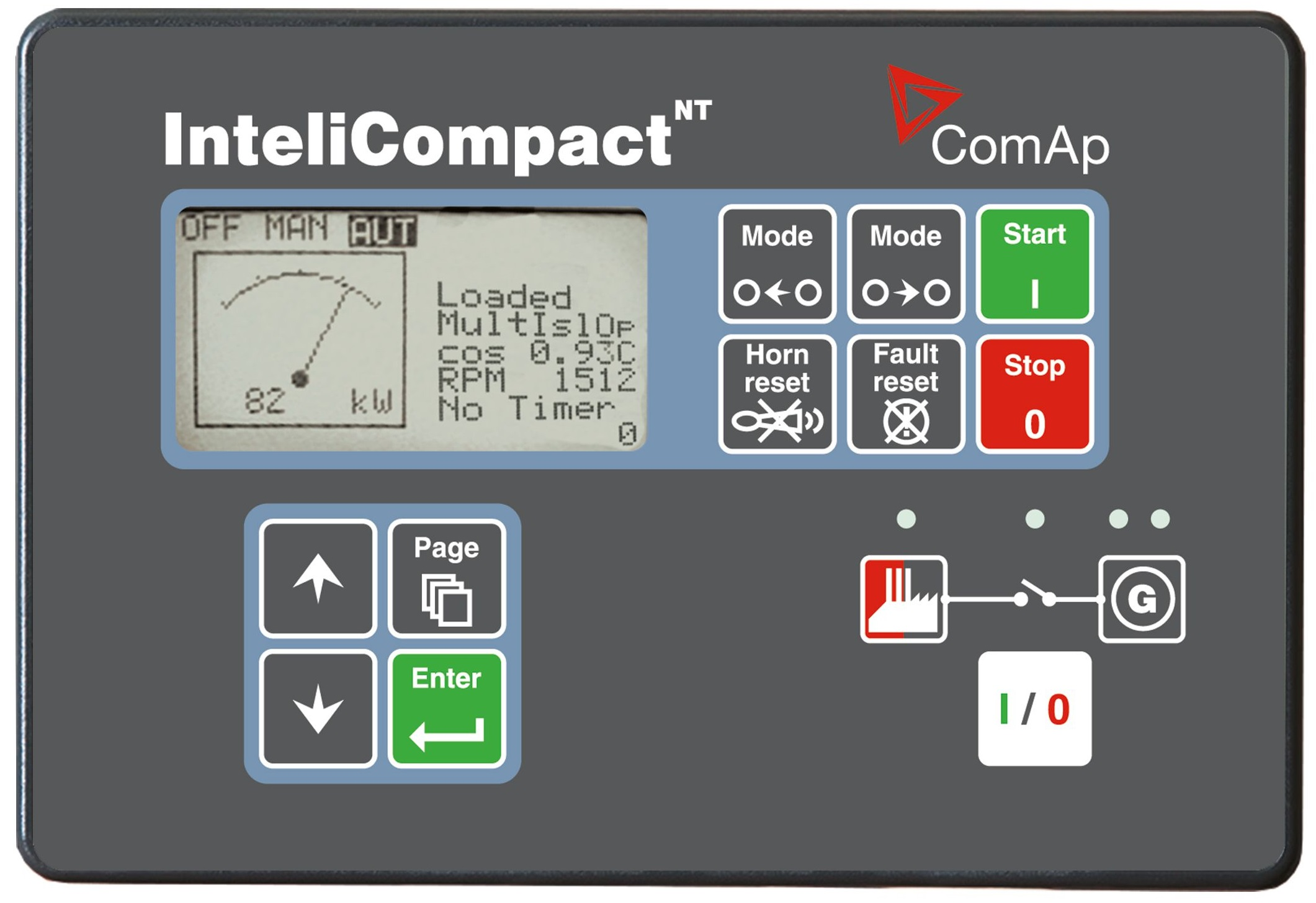 ComAp - InteliCompact NT MINT - Genset Controller for